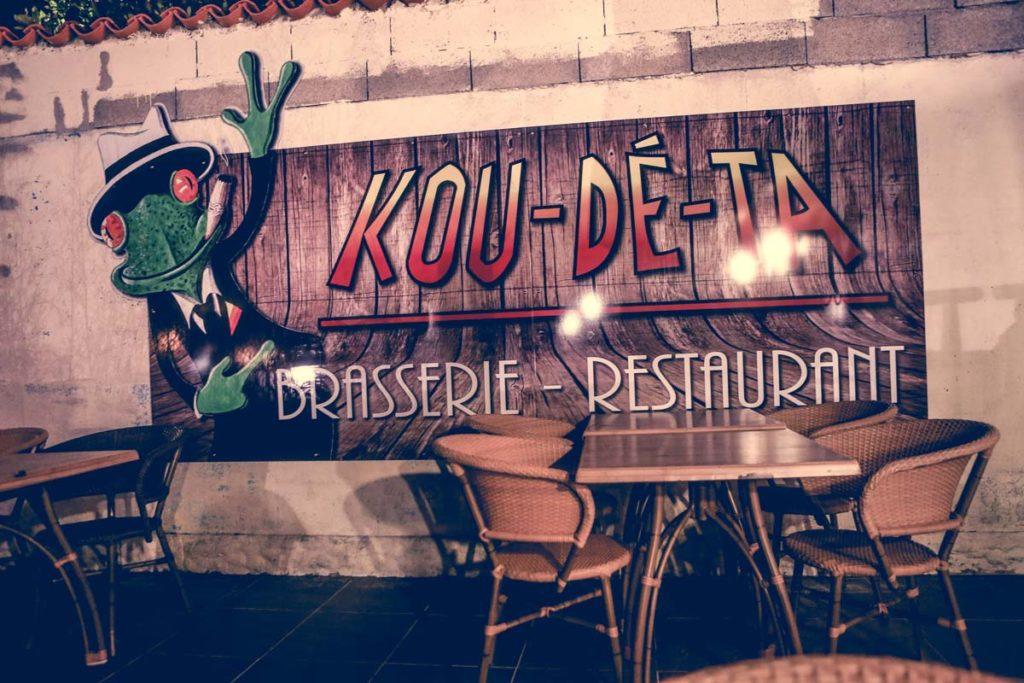 Restaurant Le Kou dé ta à Jard sur Mer en Vendée